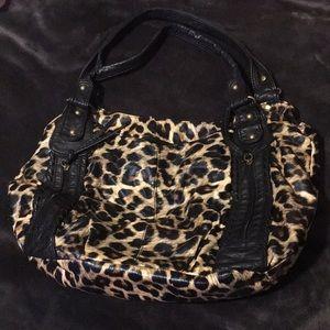 Handbags - Cheetah print purse. !
